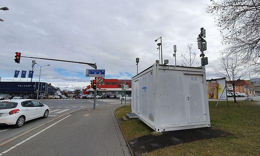 Graz Don Bosco Luftgüte Messstation