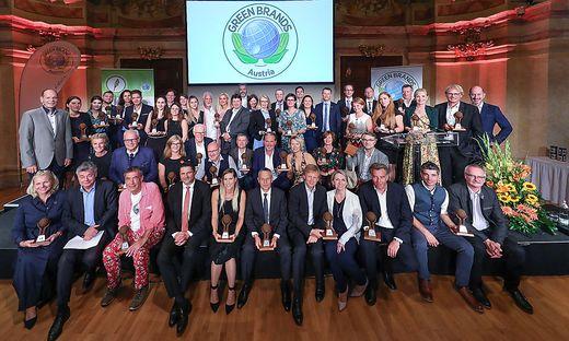 GREEN BRANDS Austria und Oesterr. Umweltjournalismus-Preis