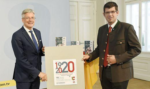 Am 10. Oktober erscheint diese Sonderbriefmarke zum Volksabstimmungs-Jubiläum