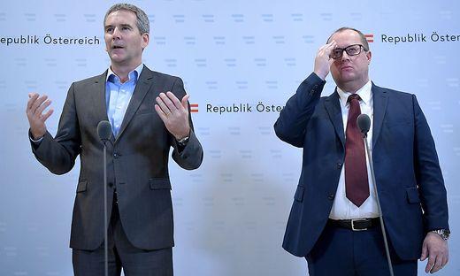 Die Architekten der Steuerreform Löger und Fuchs
