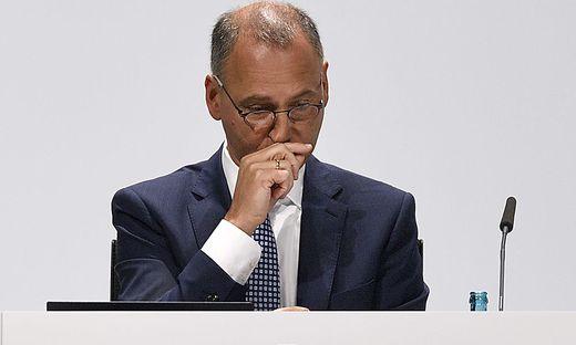 Aktionäre sprachen Werner Baumann ihr Misstrauen aus