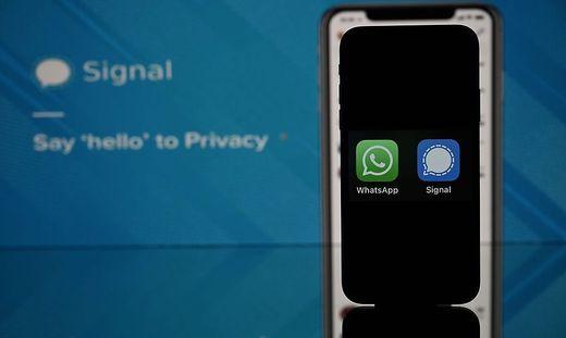 Chatprogramme wie Signal profitieren von der plötzlichen Abwanderung der WhatsApp-Nutzer
