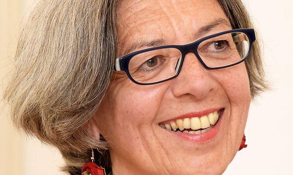 Kunstuni-Rektorin Elisabeth Freismuth / Bild: Gery Wolf