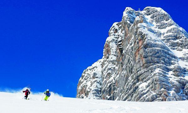 Auch abseits der Pisten ein Highlight:  Ski fahren am Dachsteingletscher / Bild: Herbert Raffalt