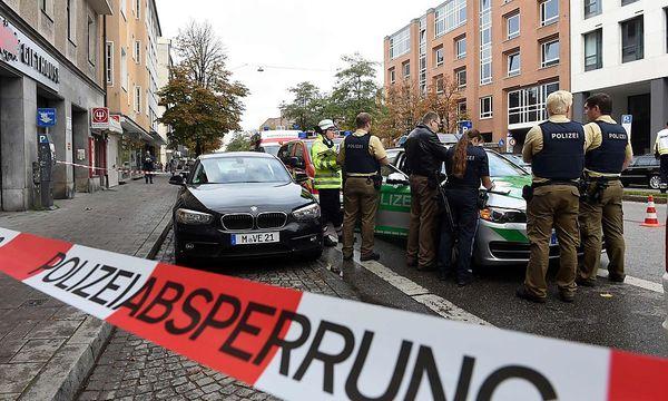 Messer-Attacke in München / Bild: APA/AFP/CHRISTOF STACHE