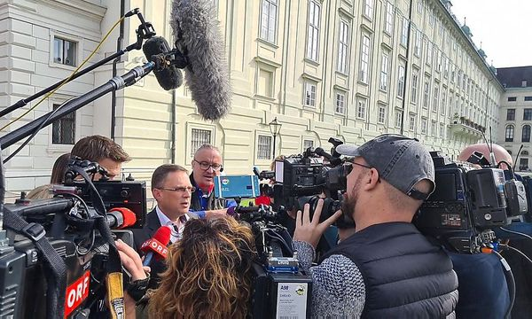 ÖVP club boss August Wöginger reiterated the line of the People's Party.