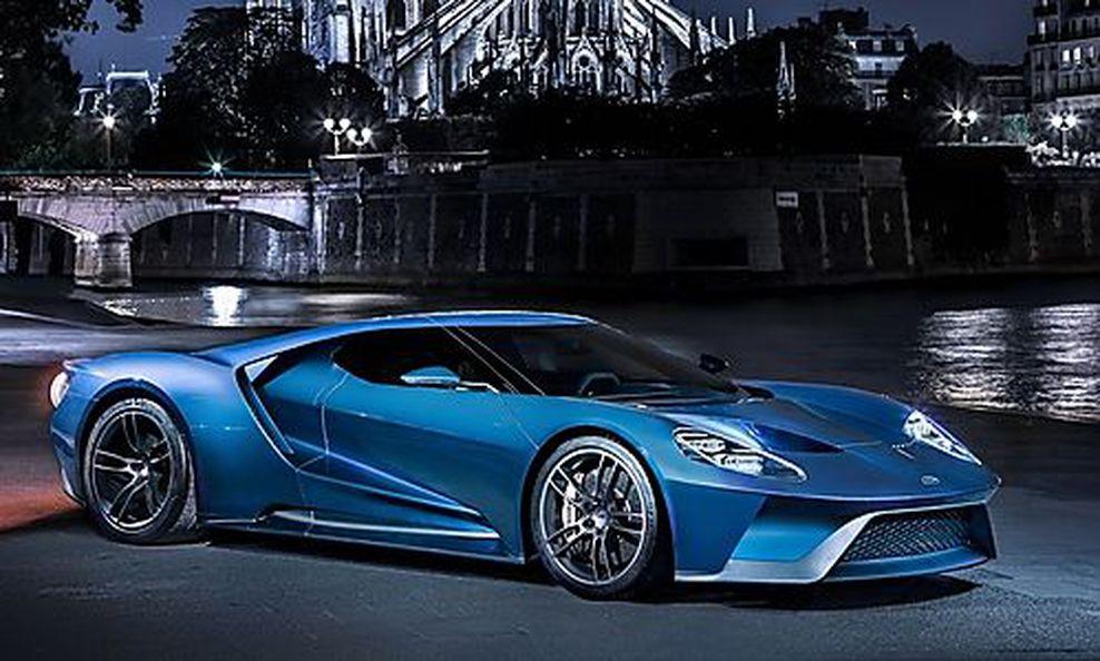 Modellvorstellung der neue ford gt ist 347 km h schnell for Garage ford auch
