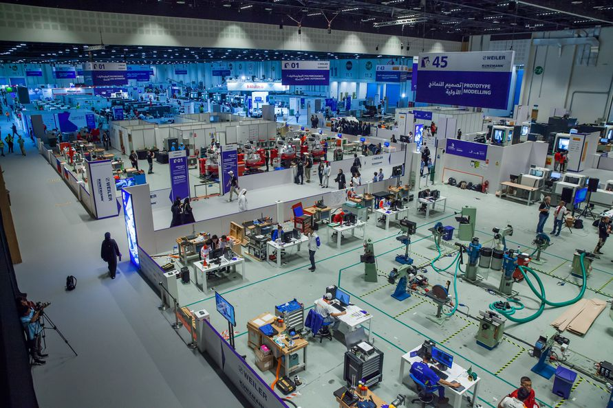 Worldskills In Abu Dhabi Wie Sissi In Abu Dhabi F R Die