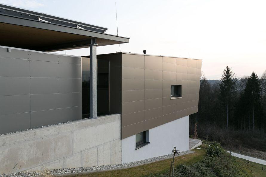 Wohnportr t ein modernes hanghaus f r zwei for Modernes haus ebenerdig