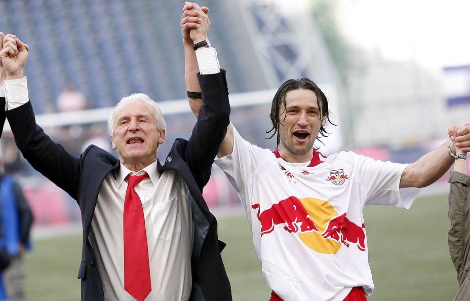 Trapattoni, Soriano und Co. : Seit 15 Jahren regiert Red Bull in Salzburg « kleinezeitung.at