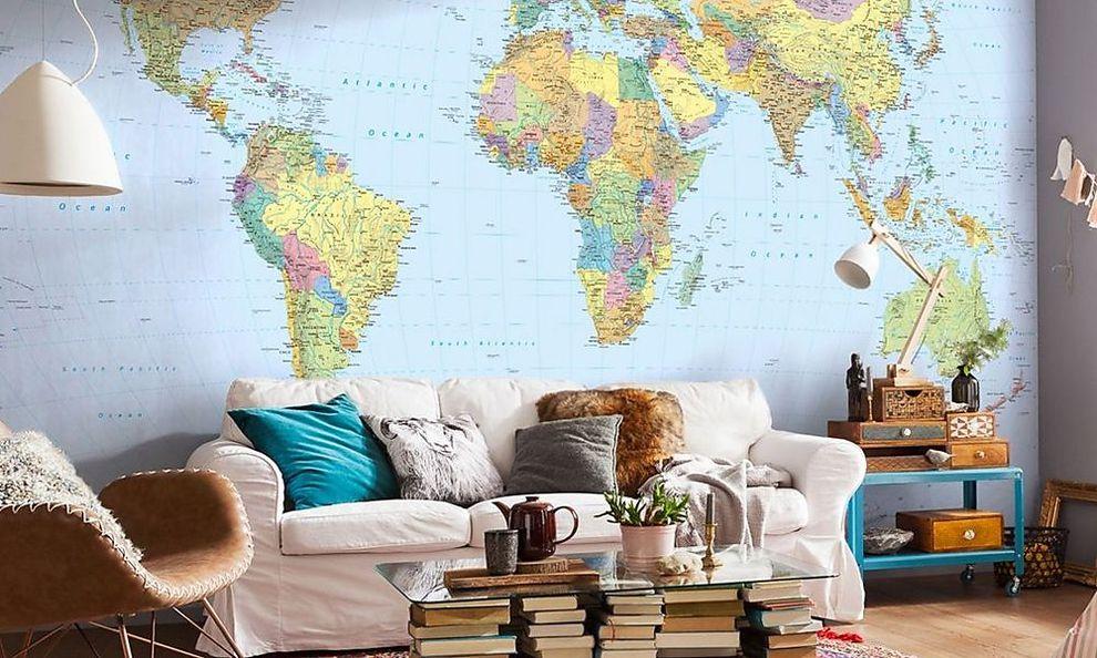 deko comeback wie man mit tapeten w nde wild gestaltet. Black Bedroom Furniture Sets. Home Design Ideas