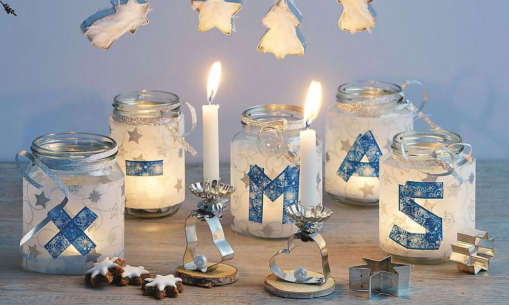 Weihnachtsgläser basteln ruckzuck zum selbstgemachten weihnachtsgeschenk