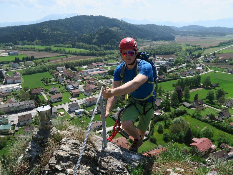 Klettersteig Griffen : Griffen pensionist von bergrettung am klettersteig geborgen