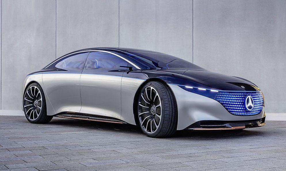 Mercedes EQS: Der Bildschirm in der elektrischen S-Klasse ...