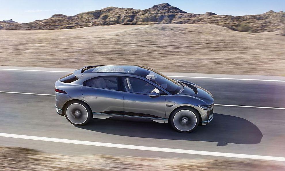 Modellvorstellung: Der elektrische Jaguar I-Pace hat bis zu 500 ...