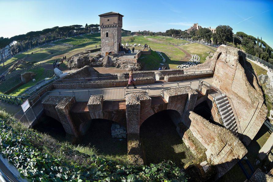 Rom: Der Circus Maximus wird zum archäologischen Gelände ...