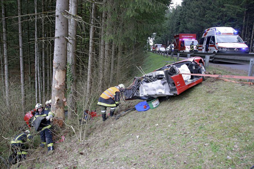 Ferrari Unfall Heute
