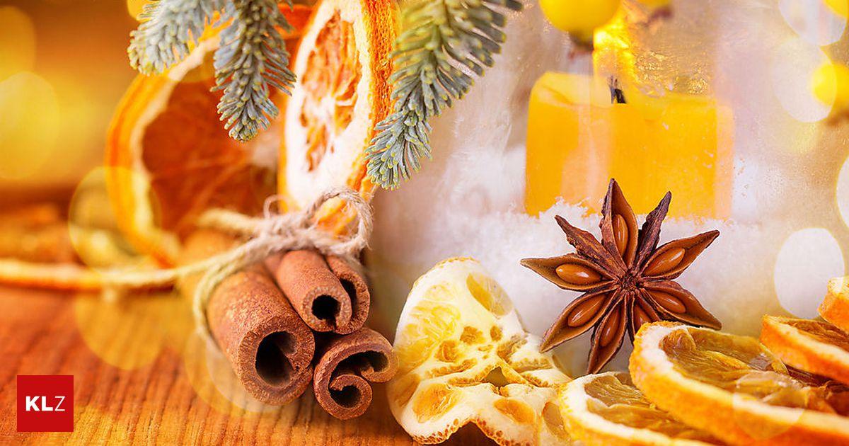 Tanne, Orange & Co.: Warum uns der Duft von Weihnachten so betört ...