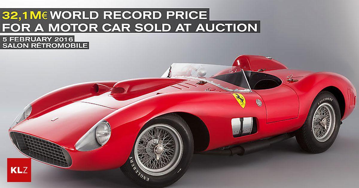 teuerstes auto der welt ferrari f r rekordpreis von 32 millionen euro versteigert. Black Bedroom Furniture Sets. Home Design Ideas