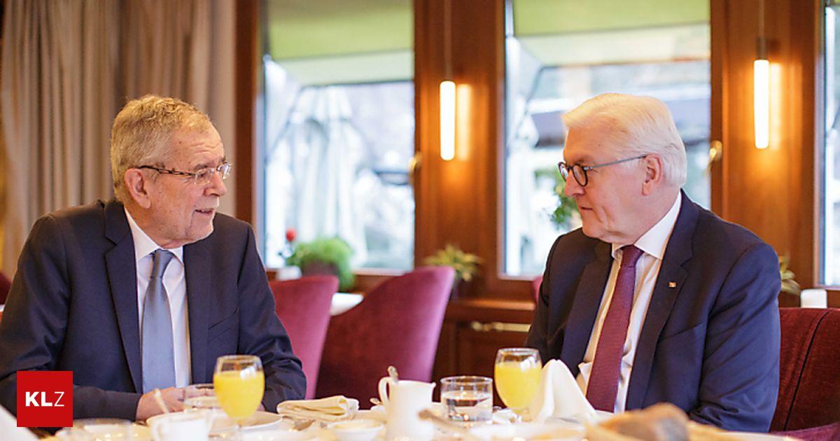 Van der Bellen traf Steinmeier in Liechtenstein
