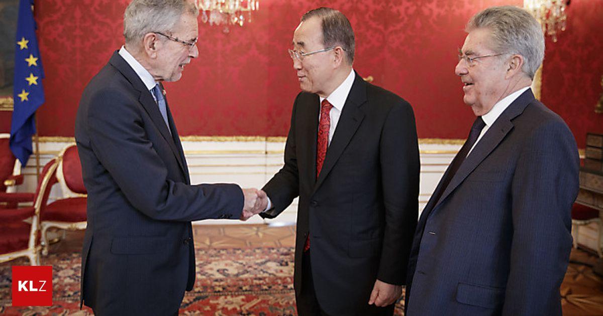 Ex-UNO-Generalsekretär Ban bei Van der Bellen