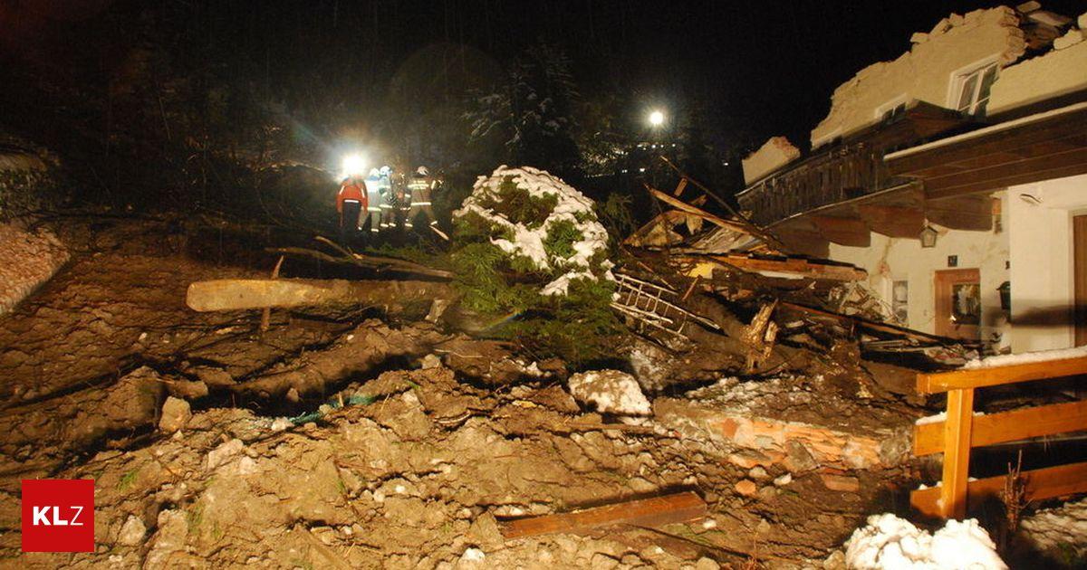 Zivilschutzalarm in Salzburg: Mure in Bad Gastein trifft zwei Wohnhäuser - Kleine Zeitung