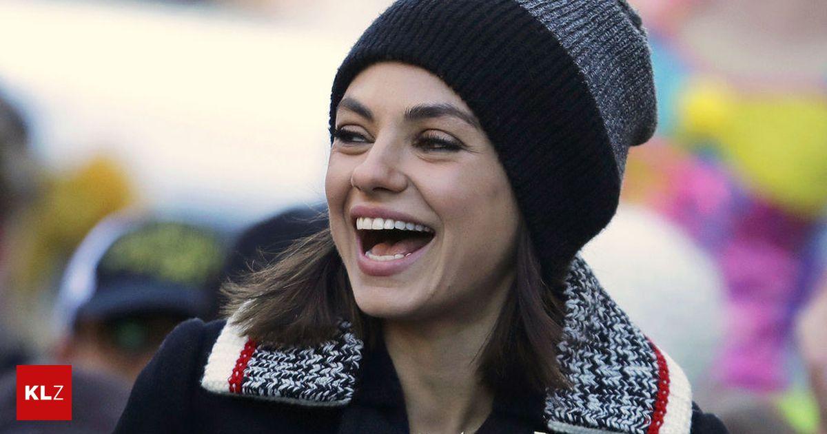 Danach ist es besser: Mila Kunis: Wenn es mir zu viel wird, heule ich einfach « kleinezeitung.at