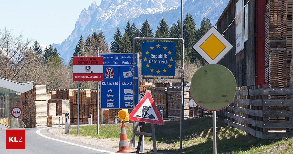 Sillian/Arnbach : Ruf nach Öffnung der Grenze wird laut ...