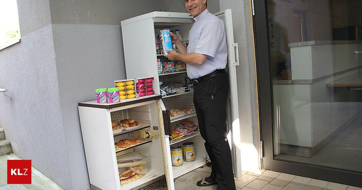 Kleiner Kühlschrank Willhaben : St. stefan: ein offener kühlschrank für alle « kleinezeitung.at