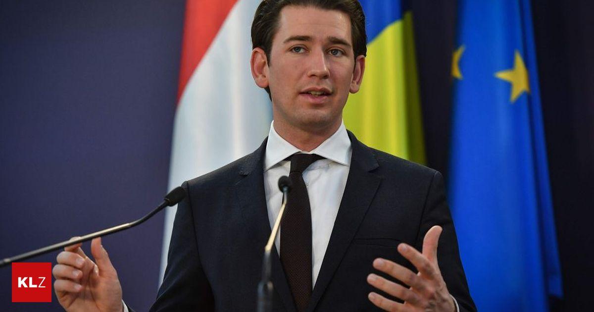 """Kanzler Kurz : """"Werden Digitalsteuer in Österreich einführen"""""""