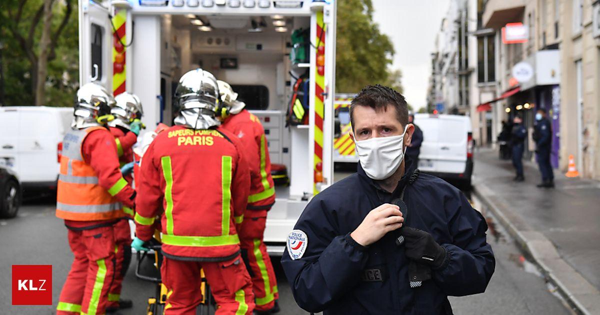 Suspected Terror In Front Of Charlie Hebdo Building Shakes Paris Kleinezeitung At Archyde