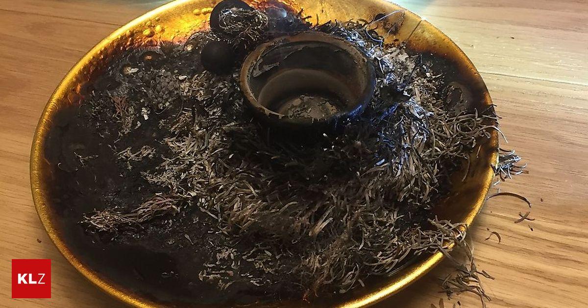 weihnachtsgesteck in flammen rauchmelder verhinderte wohnungsbrand in graz. Black Bedroom Furniture Sets. Home Design Ideas