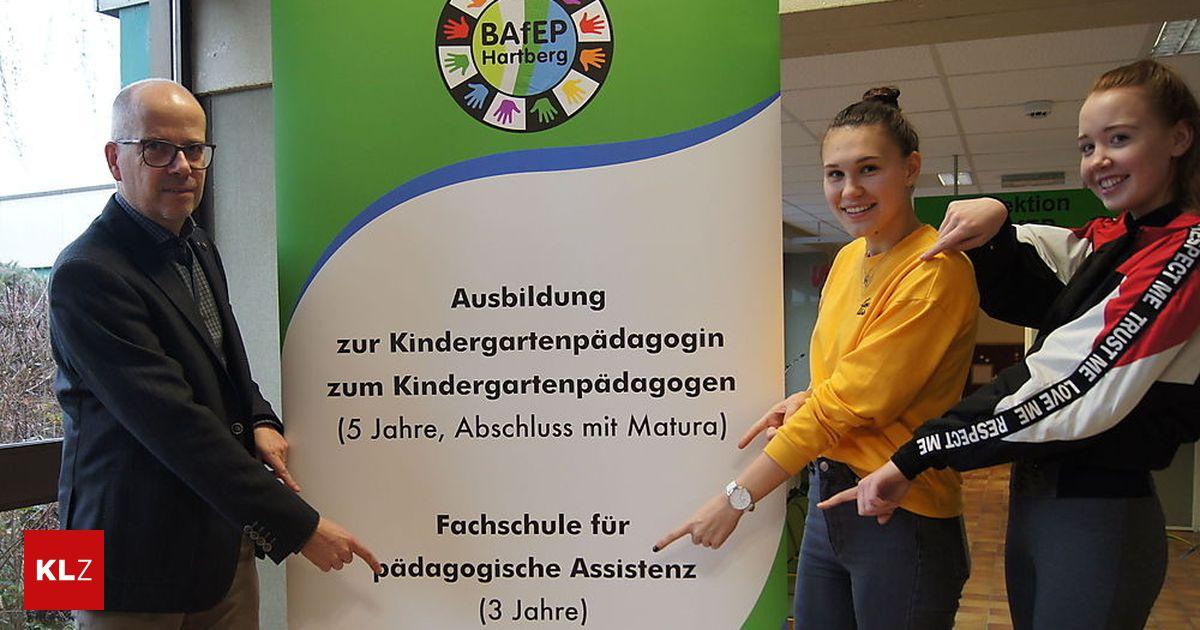 Bafep Hartberg Neue Fachausbildung Für Kindergärtner Startet Im