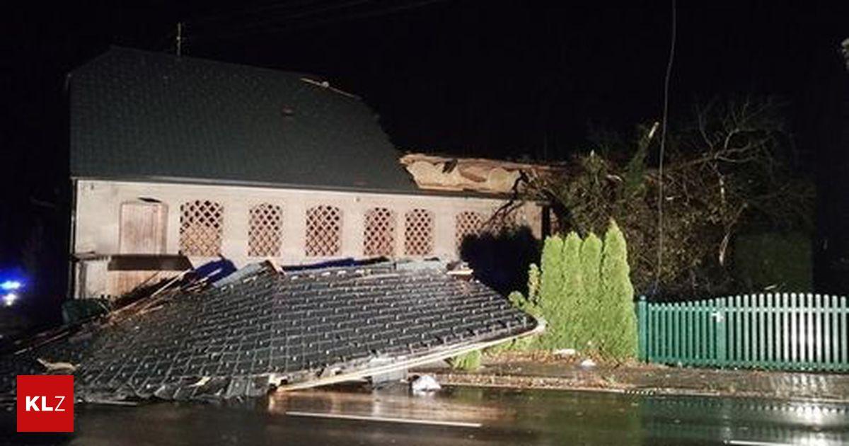 Rückblick auf Sonntag: Unwetter sorgen für Chaos in Kärnten