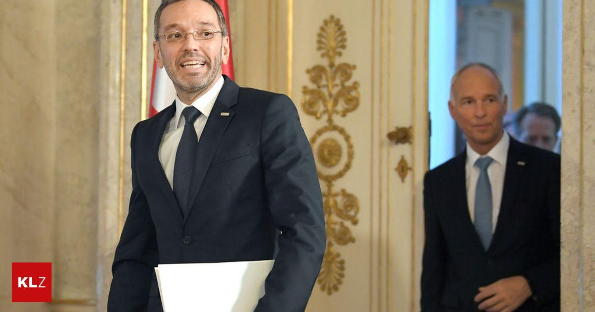Generalsekretär: Kickl machte Goldgruber noch schnell zum Generaldirektor für öffentliche Sicherheit
