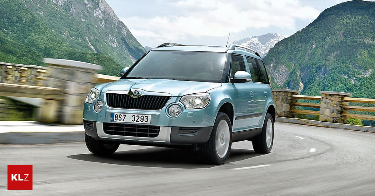 gebrauchtwagen check wie gut ist der skoda yeti. Black Bedroom Furniture Sets. Home Design Ideas