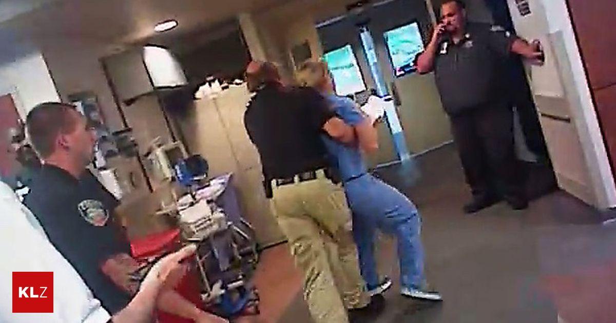 USA: Blutabnahme verweigert: Krankenschwester festgenommen ...