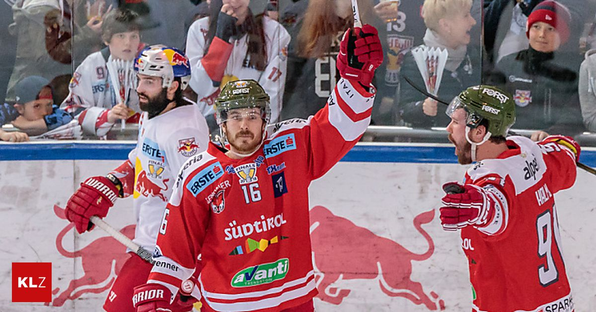 a9bf645b2 Forward Smith made serious charges against HC Bolzano «kleinezeitung.at