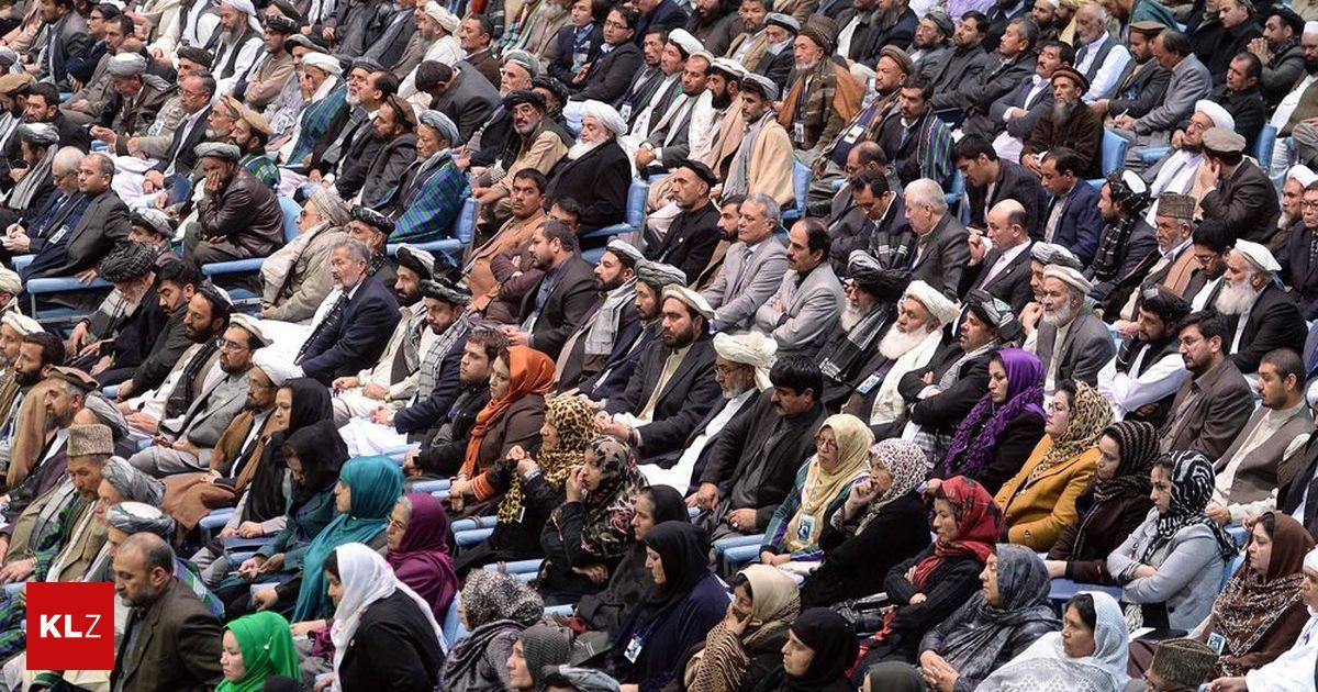 Versammlung Loya Jirga: Friedensverhandlungen mit Taliban in Afghanistan
