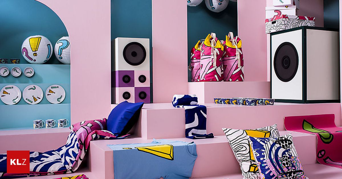 neue kollektion jetzt treibt es ikea so richtig bunt. Black Bedroom Furniture Sets. Home Design Ideas