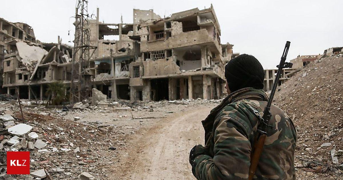 Syrien Krieg Referat