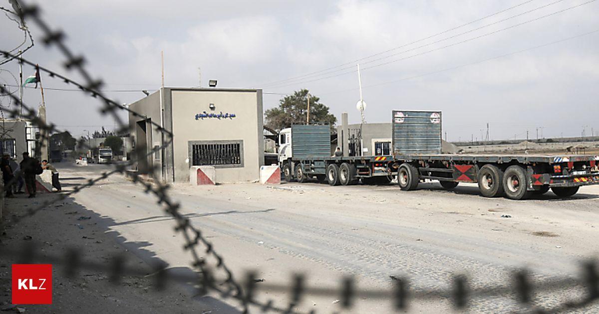 Israel öffnet einzigen Warenübergang in den Gazastreifen