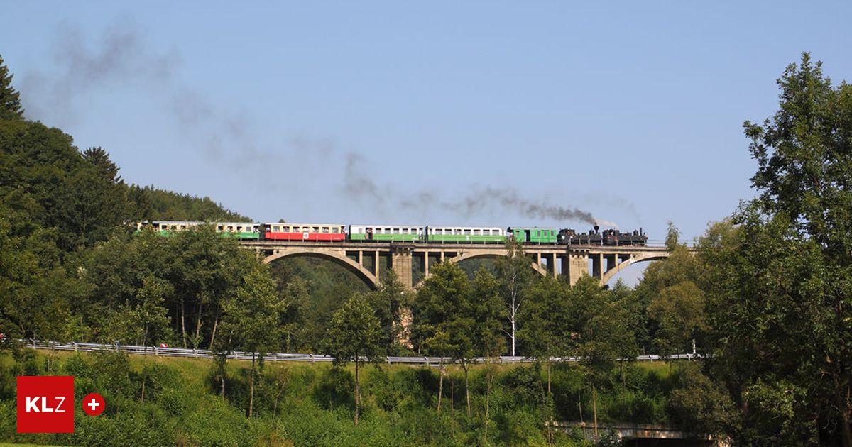 Feistritztalbahn: Der Zug steht und keiner weiß, wann er fahren wird