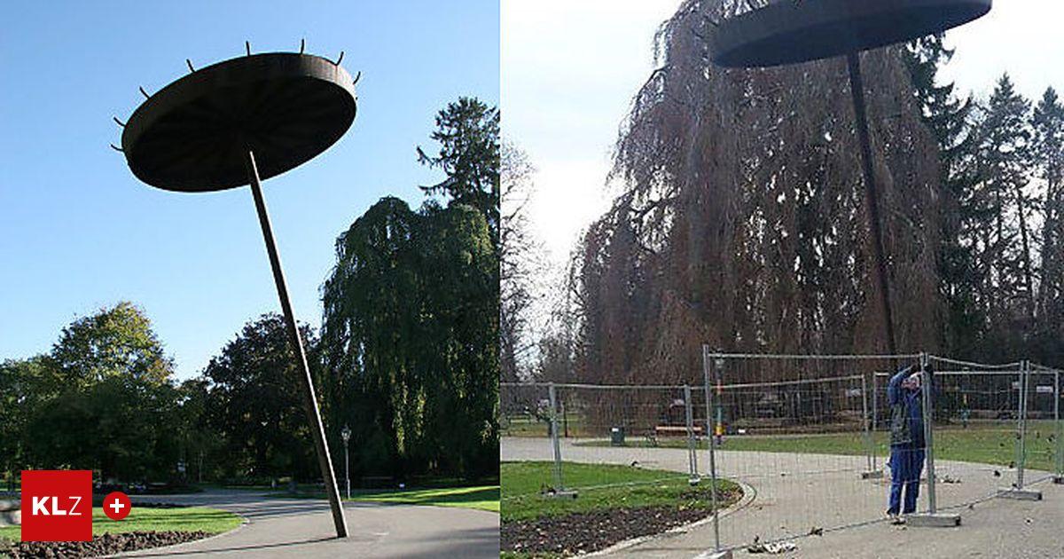 Graz U0026quot;Rostiger Nagelu0026quot; Im Stadtpark Einsturzgefu00e4hrdet U00ab Kleinezeitung.at
