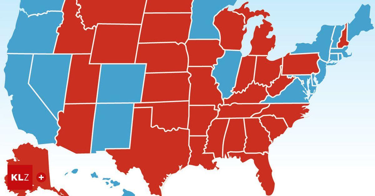 Amerika Wahlen Ergebnisse