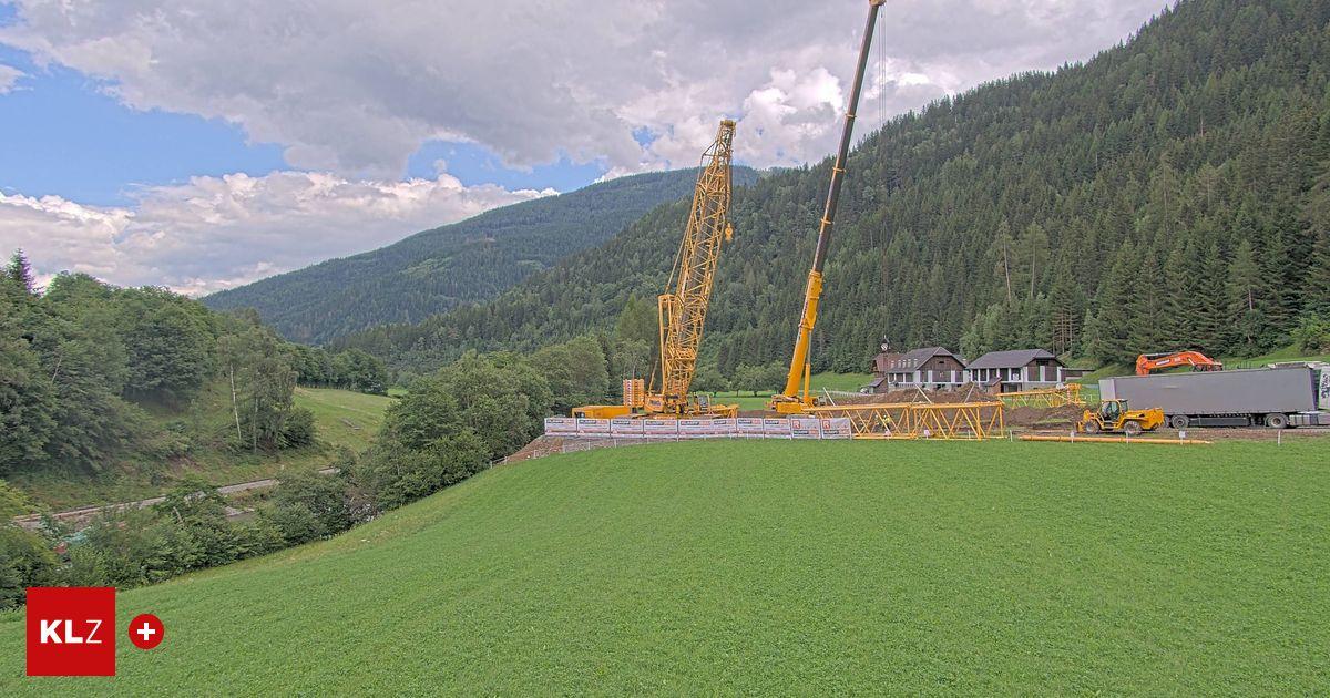 Murtalbahn: Termin für die Bergung des 32 Tonnen schweren Triebwagens steht