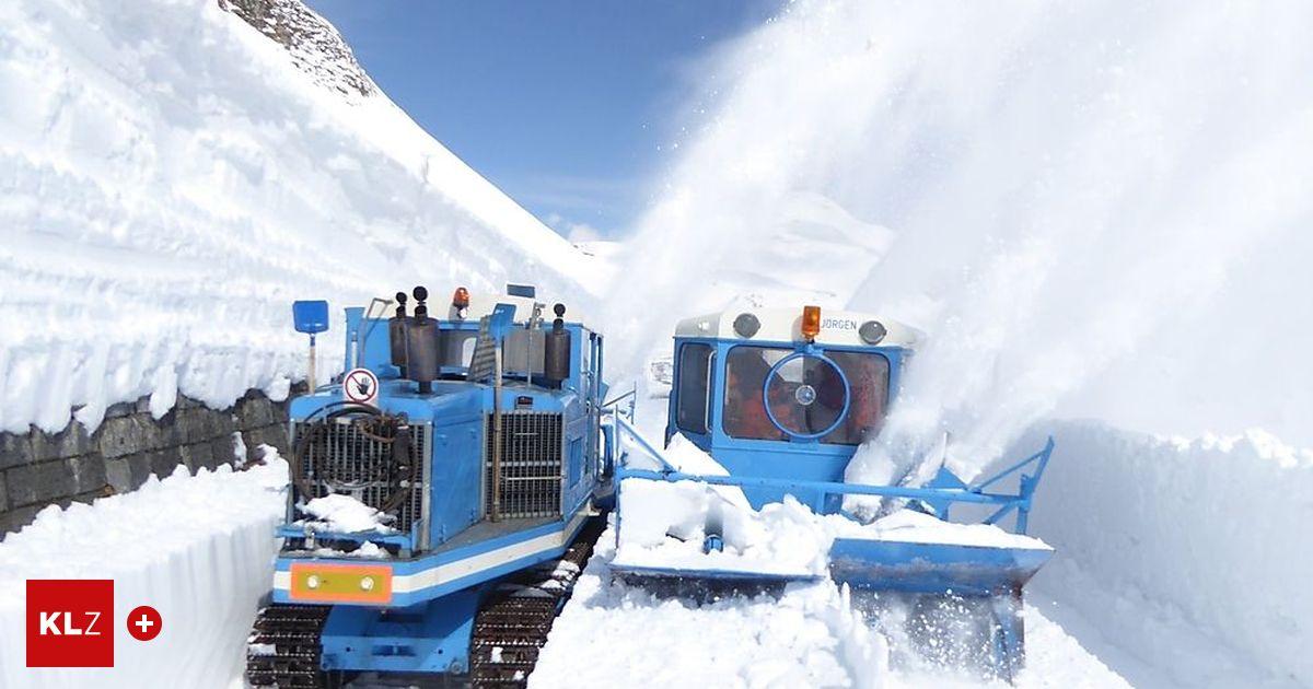 Großglockner Hochalpenstraße: Spektakuläre Schneeräumung vor einer spannenden Saison